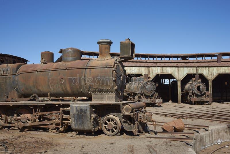 Vertiente del motor de Baquedano, Chile foto de archivo libre de regalías
