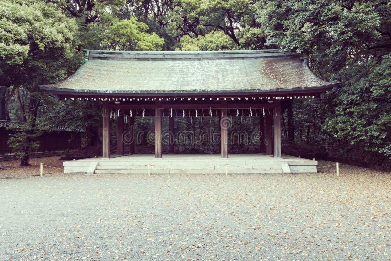 Vertiente tradicional del templo foto de archivo