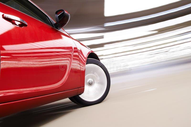 Vertigo car royalty free stock photo