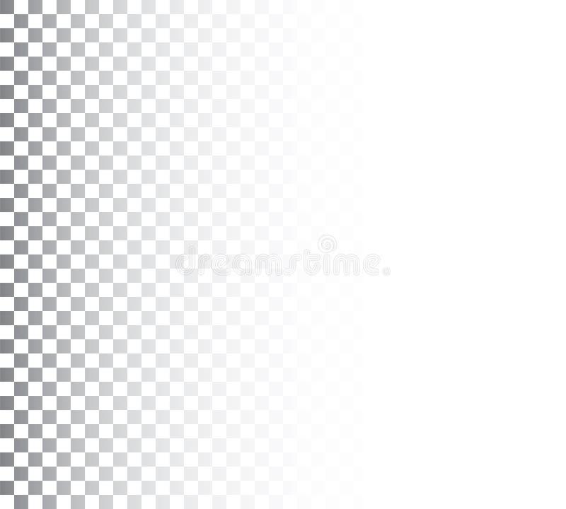 Vertikal sömlös abstrakt svartvit modell royaltyfri illustrationer