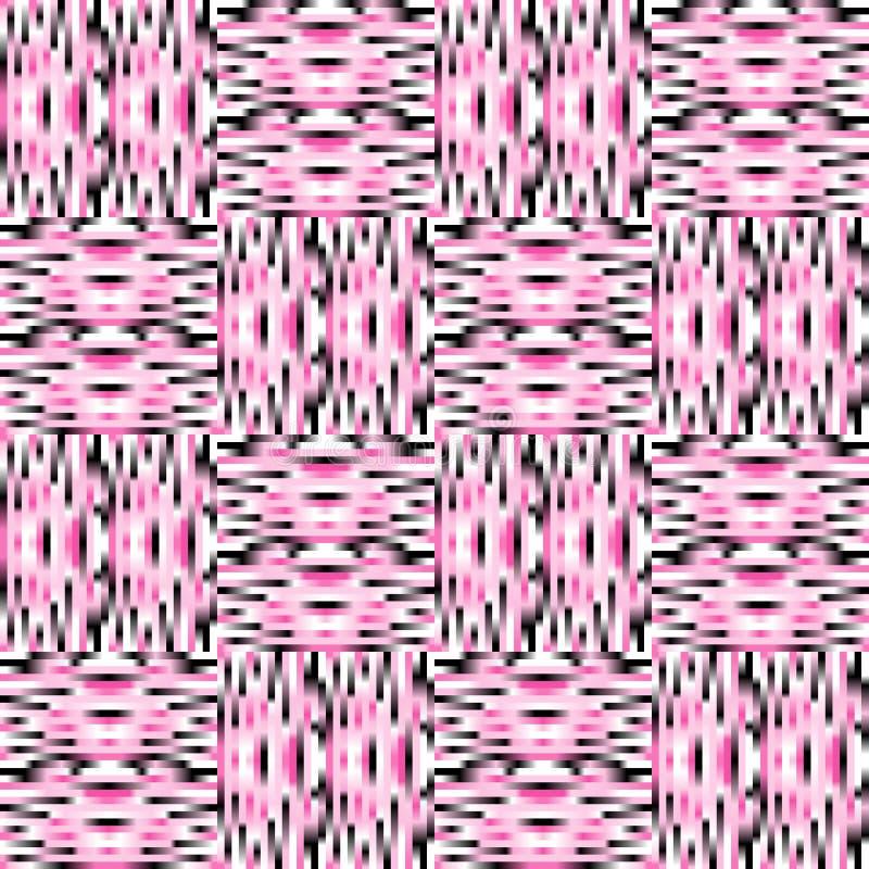Vertikal und horizontale Linien nahtloser Hintergrund vektor abbildung