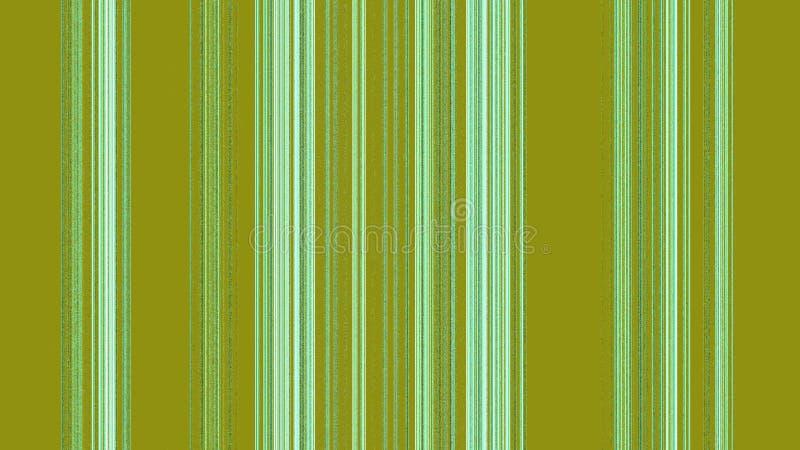 Vertikala vita gröna linjer på träsk royaltyfri illustrationer