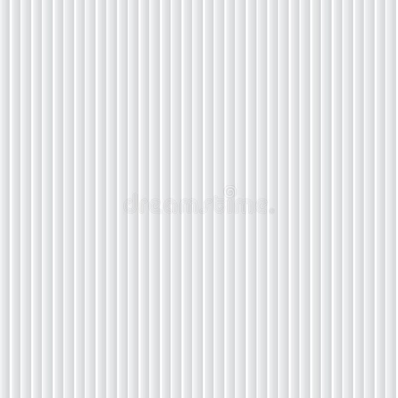 Vertikala vita linjer sömlös modell för optisk effektvektor stock illustrationer