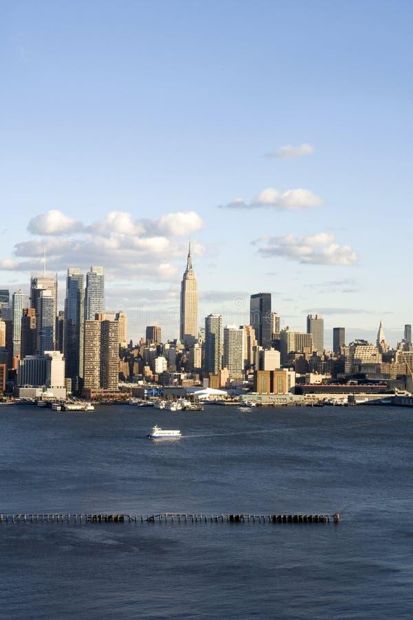 Vertikale des Midtown-NYC stockbilder