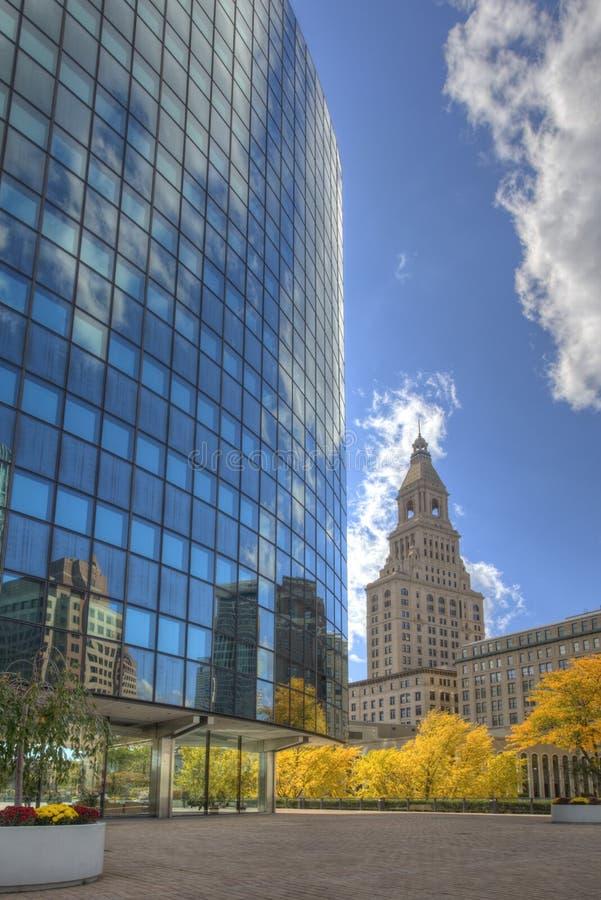 Vertikale des Phoenix-Gebäudes, Hartford, Connecticut lizenzfreies stockfoto