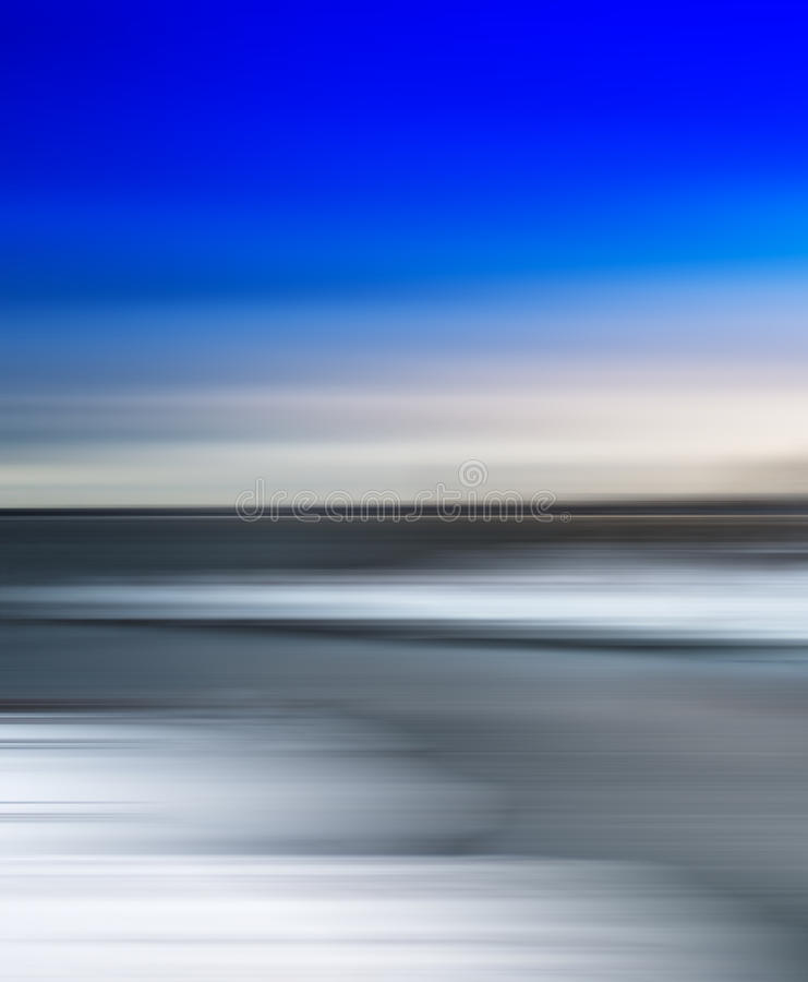 Vertikale klare einfache arktische Zusammenfassung unscharfe Landschaft lizenzfreies stockfoto