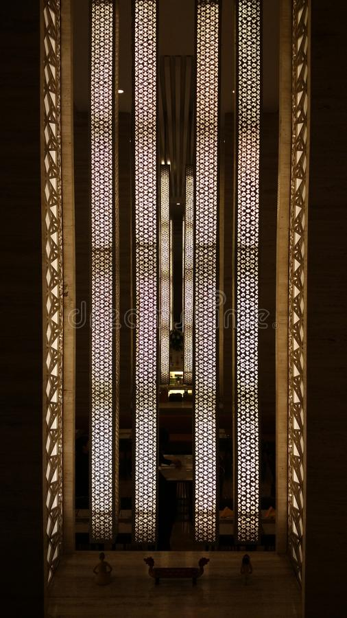 Vertikale Lampe lizenzfreies stockfoto