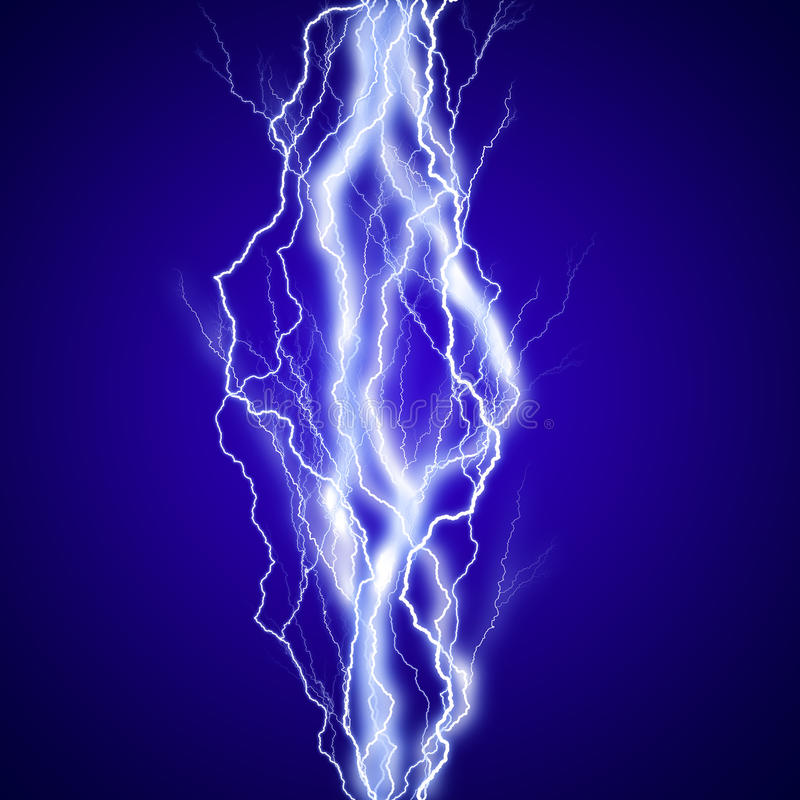 Vertikaler lightenings Effekthintergrund vektor abbildung