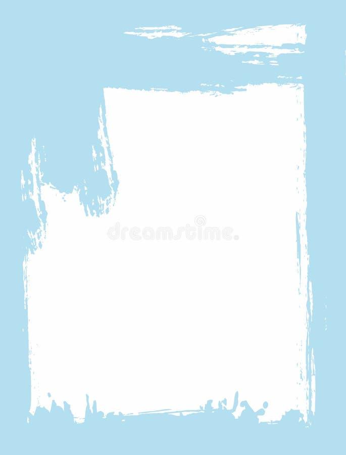 Vertikaler Schmutzhintergrund Eigenh?ndig gezeichnet mit einer rauen B?rste Skizze, Aquarell, Farbe lizenzfreie abbildung
