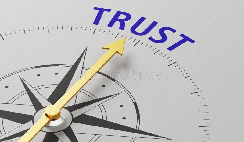vertrouwen vector illustratie