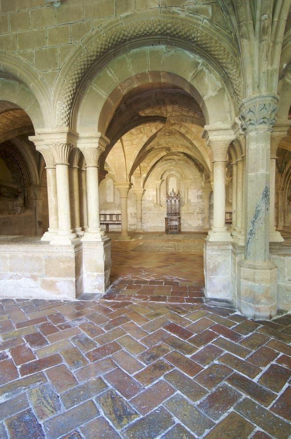 Veruela Kloster lizenzfreie stockfotos