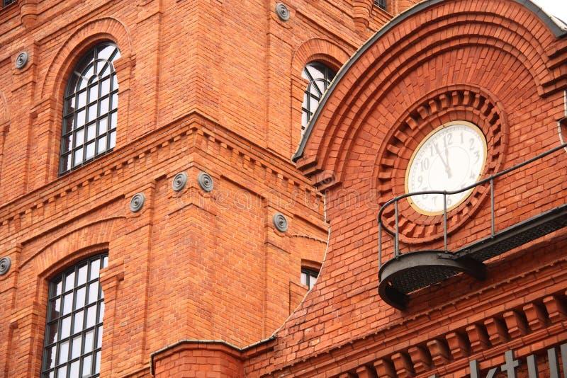 Vervaardiging in Lodz stock afbeelding