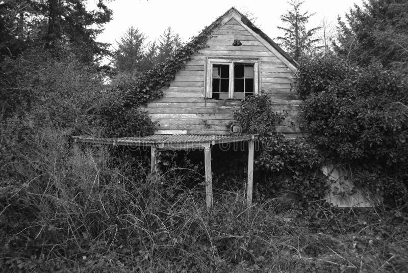 Vervallen huis royalty-vrije stock foto