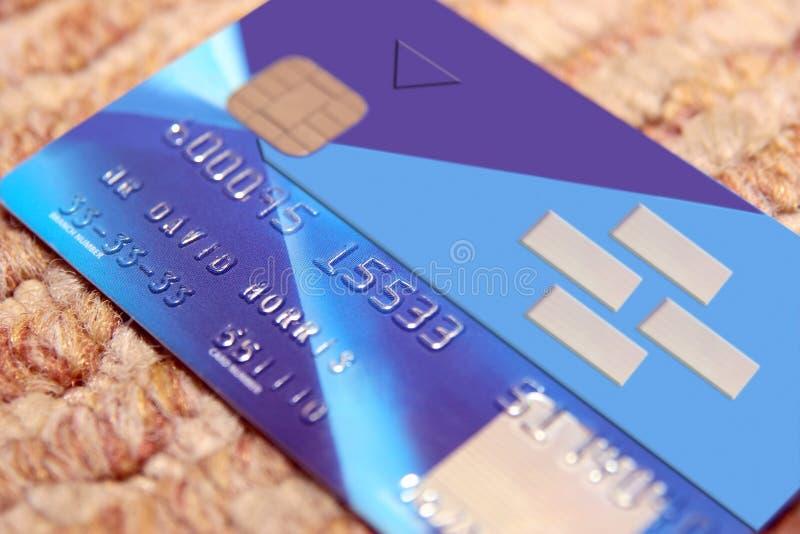 Vervals bankkaart 3 royalty-vrije stock afbeelding