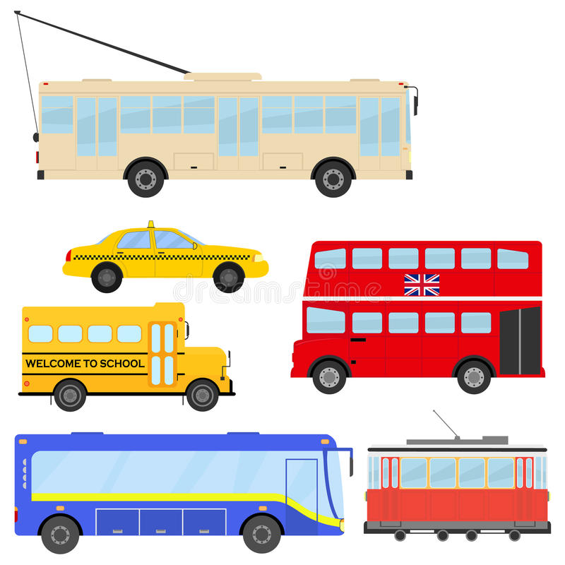vervoer royalty-vrije illustratie