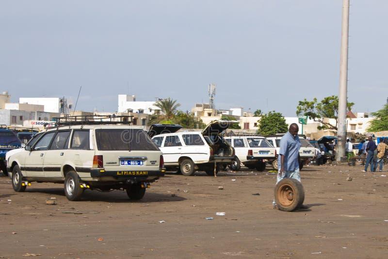 Vervoer in Afrika stock afbeeldingen