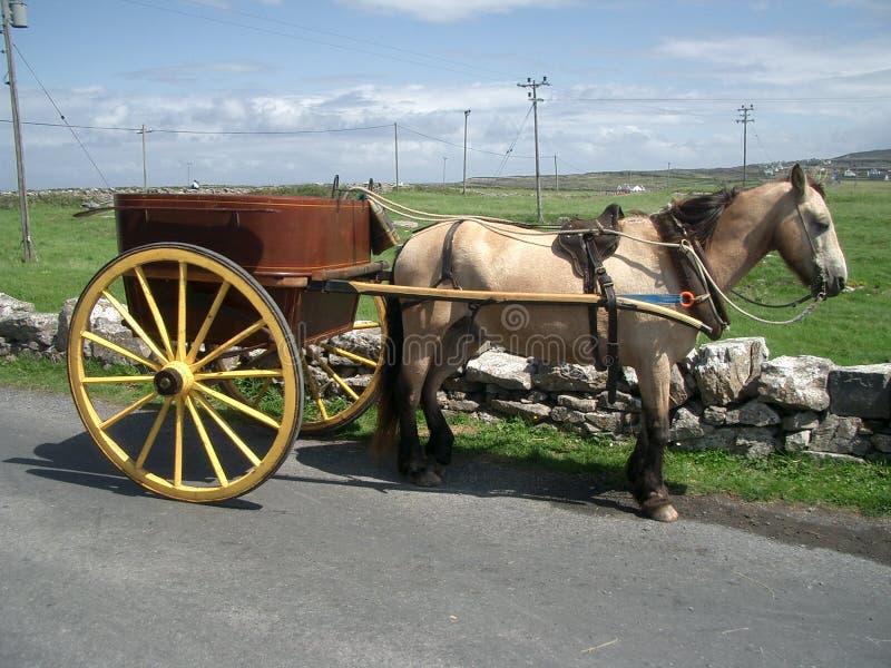 Vervoer op Eilanden Aran stock fotografie