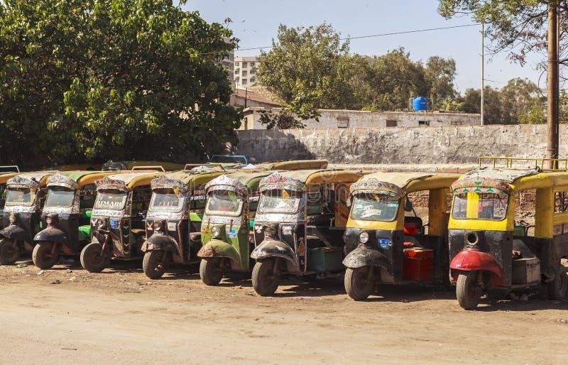Vervoer in Pakistan royalty-vrije stock afbeeldingen