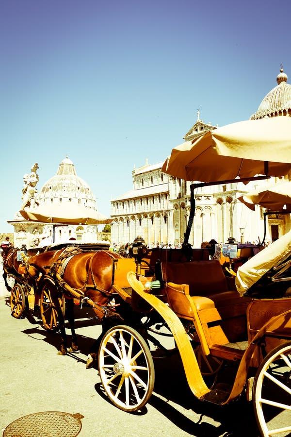 Vervoer in Pisa royalty-vrije stock foto