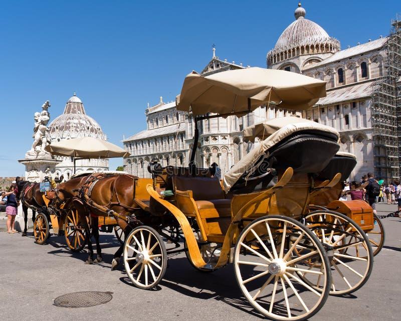 Vervoer in Pisa stock afbeeldingen