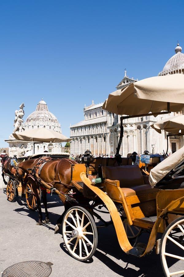 Vervoer in Pisa royalty-vrije stock afbeeldingen