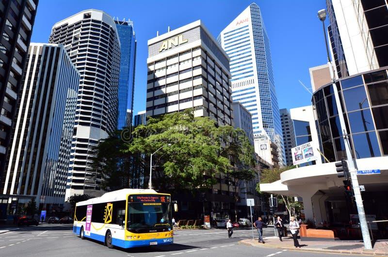 Vervoer van Brisbane - Queensland Australië stock fotografie