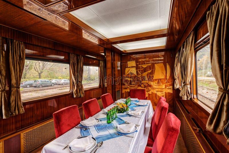 Vervoer van de luxe het oude trein royalty-vrije stock foto's