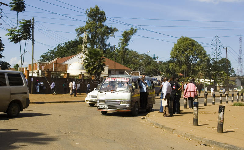 Vervoer van Nairobi royalty-vrije stock foto's