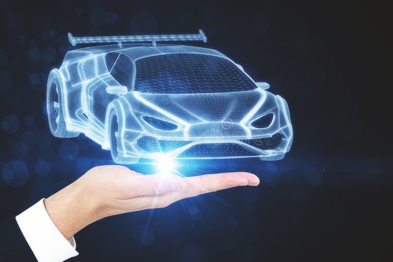 Vervoer, voertuig en controleconcept royalty-vrije stock foto