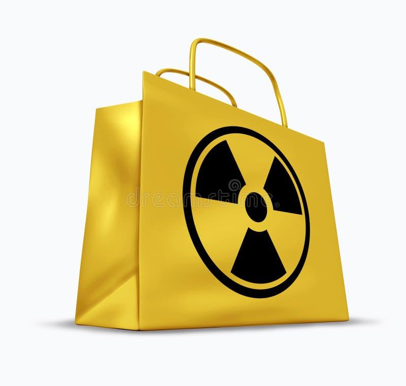Vervuilde goederen vector illustratie