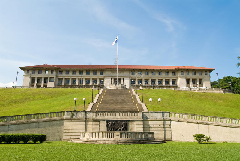 Verwaltungs-Gebäude lizenzfreie stockfotos