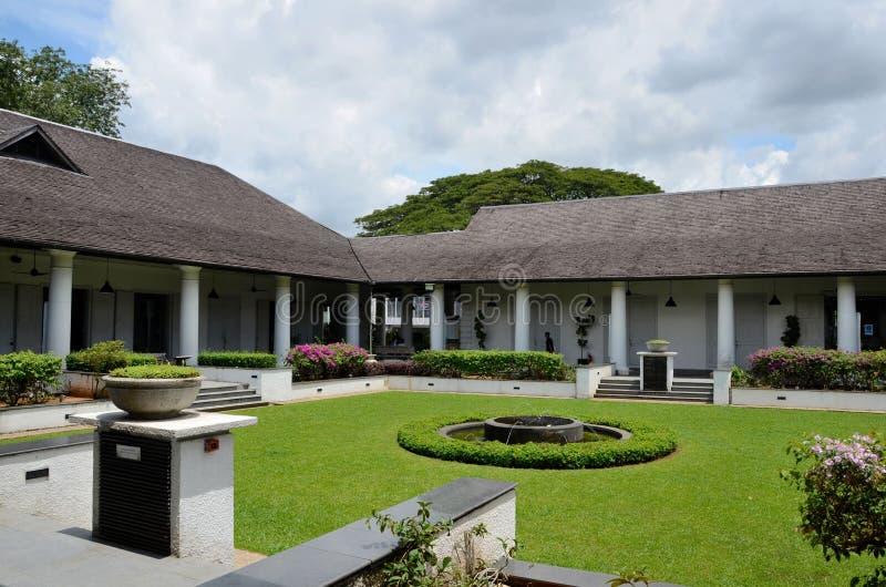 Verwaltungs- und Gerichtsgebäude Kuching Sarawak Malaysia des alten Gerichtes lizenzfreie stockbilder