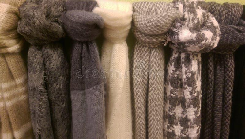 Verwarde sjaals stock foto