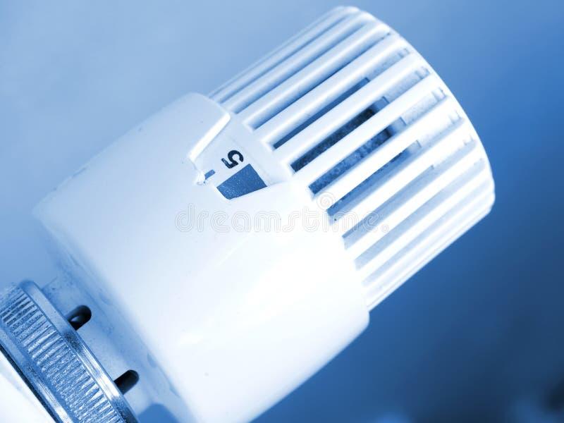 Verwarmende radiator stock foto