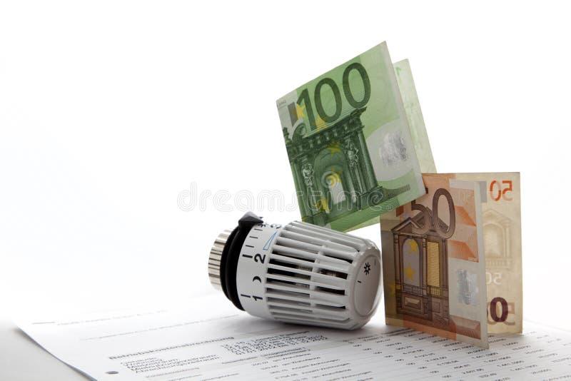 Verwarmingskostennen stock fotografie