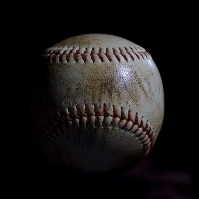 Verwendeter Baseball lizenzfreies stockbild