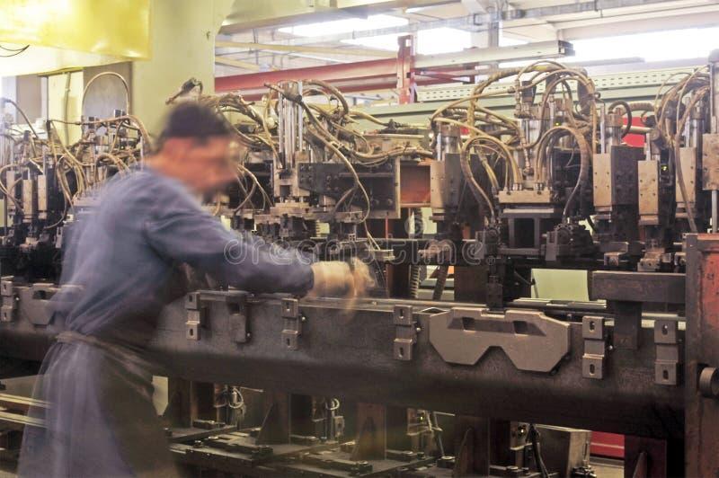 Verwerkende industrie stock afbeeldingen
