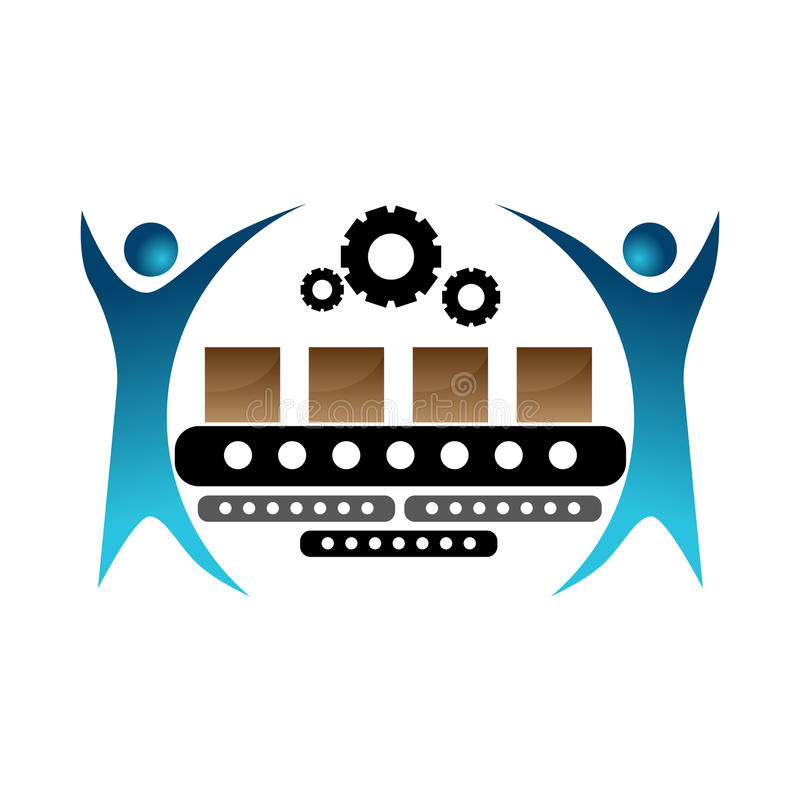 Verwerkende Team Icon vector illustratie