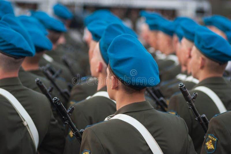 Verwezenlijking van militairen royalty-vrije stock fotografie