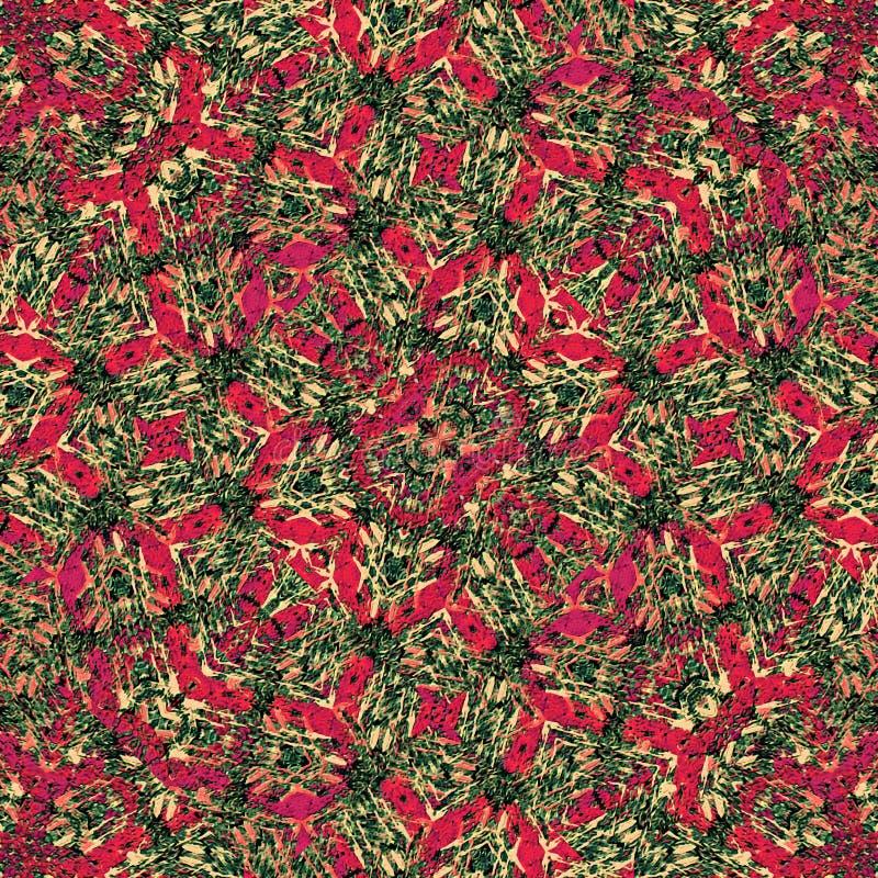 Verwickeltes modernes abstraktes geometrisches Muster lizenzfreie abbildung