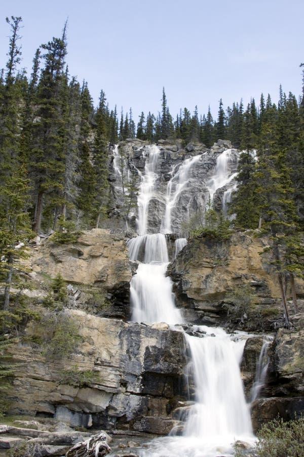 Verwicklung-Nebenfluss-Wasserfälle. stockfotografie