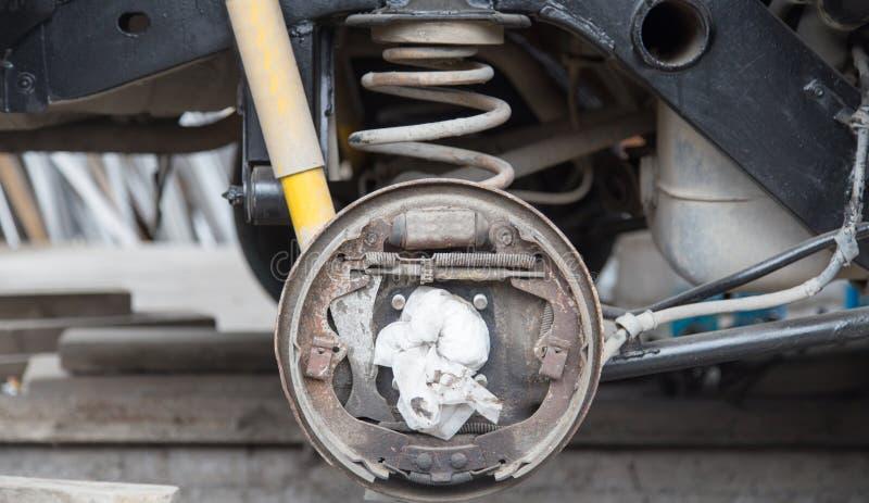 Verwijder het wiel van auto royalty-vrije stock foto's