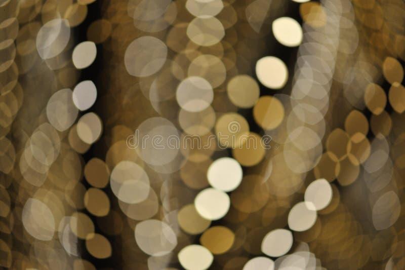 Verwischen des Lichtes stockfoto