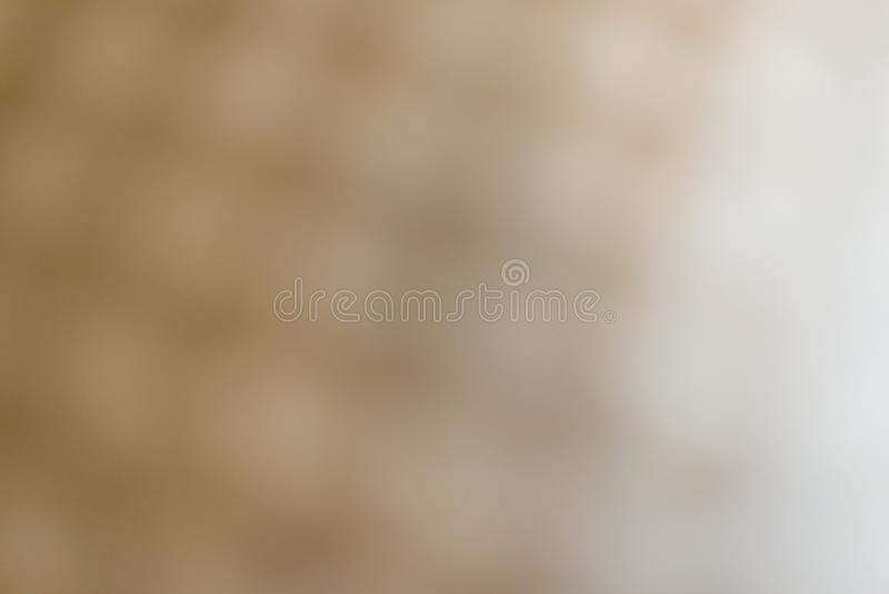 Verwischen Sie Abstraktion f?r Hintergrund, beige Farbe lizenzfreie stockfotos