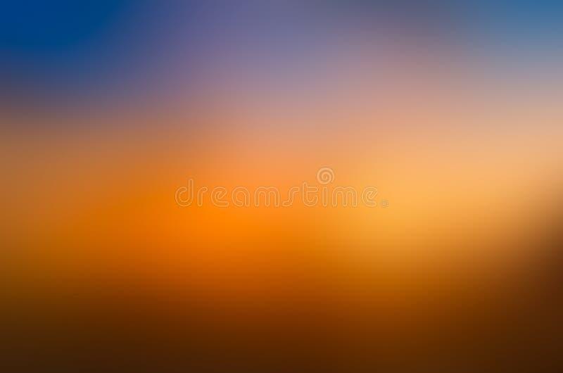 Verwischen Sie Grundfarben-Farbefarbtheorie des blauen Grüns des bunten orange Hintergrundes purpurrote gelbe stockfotos