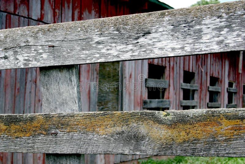 Verwittertes Holz In Den Schichten Lizenzfreie Stockfotografie