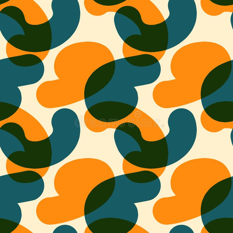Download Verwobene Farbe Formt Nahtloses Muster Vektor Abbildung - Illustration von abbildung, graphik: 106804066