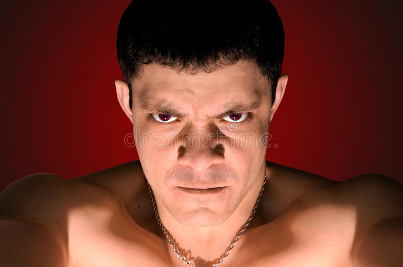 Download Very angry man stock image. Image of delinquent, angry - 13616247