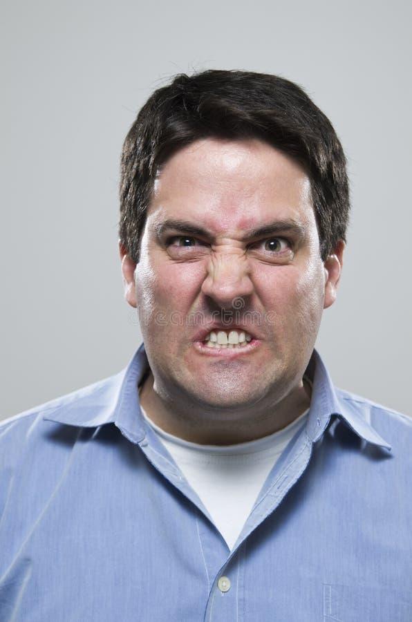 Very Angry Man Stock Photos