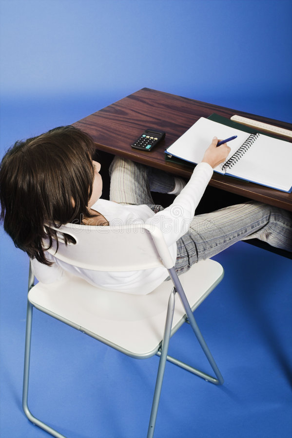 Download Very bad posture stock photo. Image of homework, folder - 1171072